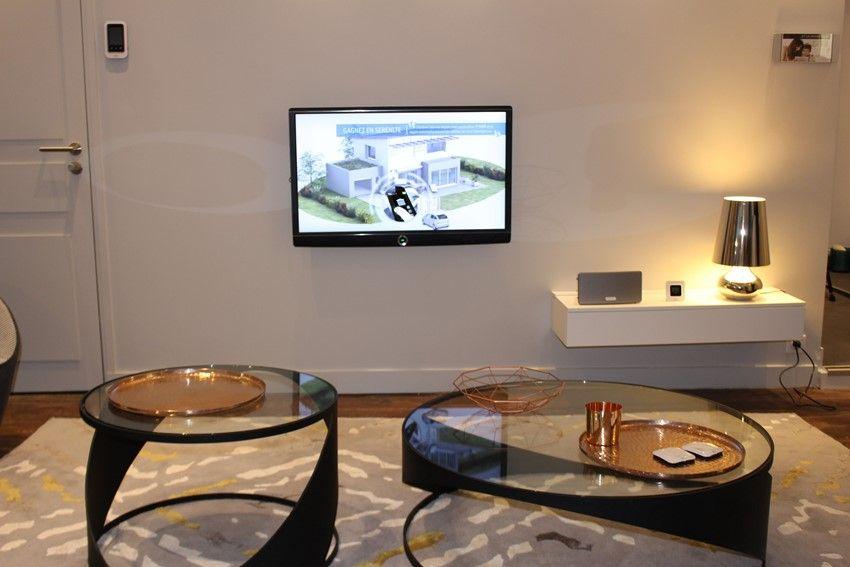 Smarthus med sonos lydanlegg og tv tilkoblet